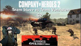 Company of Heroes 2: BB 4v4 Tournament - 1st Quarter Finals - G2 Team Stuve vs Team Vonasten