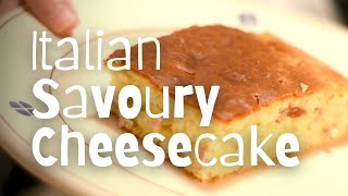 Savoury Cheesecake Recipe