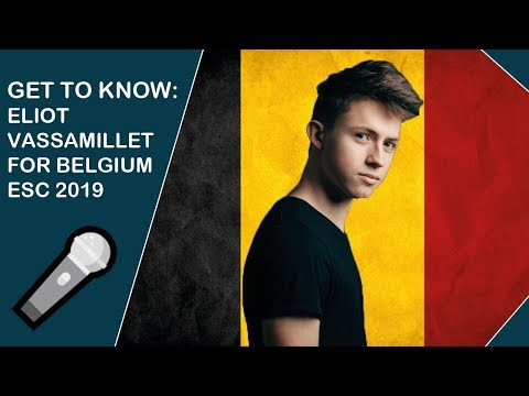 Get to know: Eliot Vassamillet from Belgium (ESC 2019)