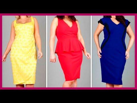🔴 КАКИЕ ПЛАТЬЯ НОСИТЬ, чтобы СКРЫТЬ ЖИВОТ: 10 модных фасонов ★ Women Beauty Club