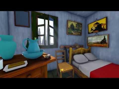 Van Gogh - The bedroom in Arles/La camera da letto ad Ales - virtual tour