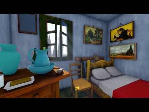 Van Gogh - The bedroom in Arles/La camera da letto ad Ales - virtual ...