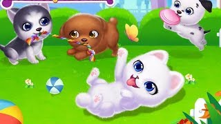 My Puppy Friends - Play Fun Pet Care Game Dress Up, Beauty Salon - Gameplay Android /Ios