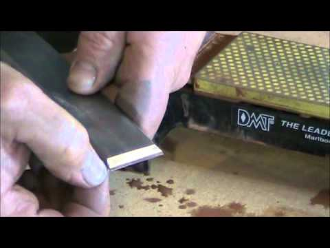How to Sharpen a Framing Chisel