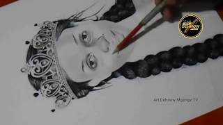 Drawing Nandy The African Princess
