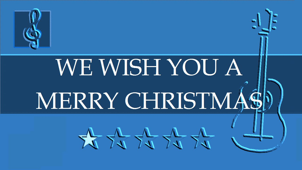 Acoustic Guitar Duet We Wish You A Merry Christmas Sheet Music