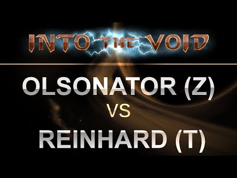 SC2 - Into the Void 2017 - Olsonator (Z) v Reinhard (T) on Abyssal Reef