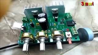 Video 12V 30W DIY TDA2030A Dual Track Power Amplifier Board Kit  from banggood.com download MP3, 3GP, MP4, WEBM, AVI, FLV November 2017