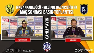 Ankaragücü - Başakşehir Basın Toplantısı (CANLI) ᴴᴰ