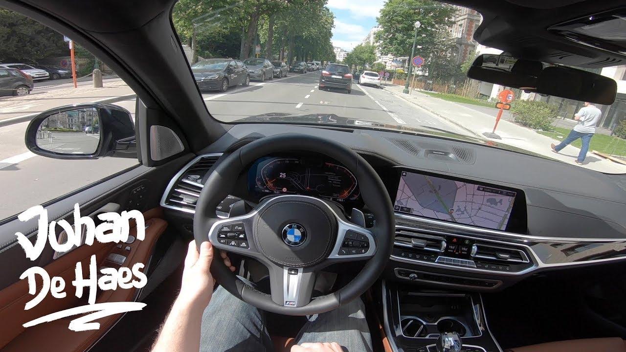 2019 BMW X7 xDrive40i 340hp POV Test drive