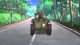 MAD ガールズ&パンツァー 頭文字P - Girls&Panzer AAA BLOOD on FIRE