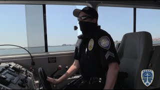 Patrolling San Diego Bay during COVID-19