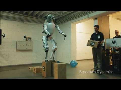 Издевательства над роботами в БостонДайнемикс и робо-ответочка [БЕЗ МАТА]