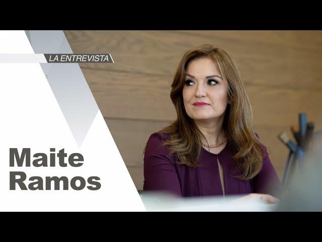 La Entrevista: Maite Ramos, Directora General de Alstom México