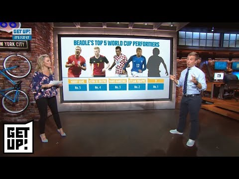 Michelle Beadle's top 5 World Cup performers   Get Up!   ESPN
