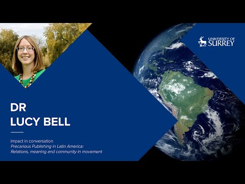 Play video: Impact in Conversation: Dr Lucy Bell | University of Surrey