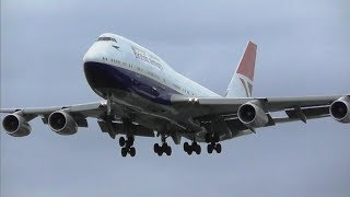 Planes at London Heathrow Airport, RW27L Myrtle Avenue | 27-04-19