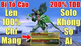 [Gcaothu] Omen bị tố cáo Hack khi lên 100% Chí Mạng kèm 200% tốc đánh -Tuyên bố Solo không sợ một ai