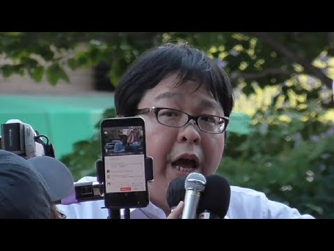 九段下8.15【桜井誠代表の演説】 2018/08/15