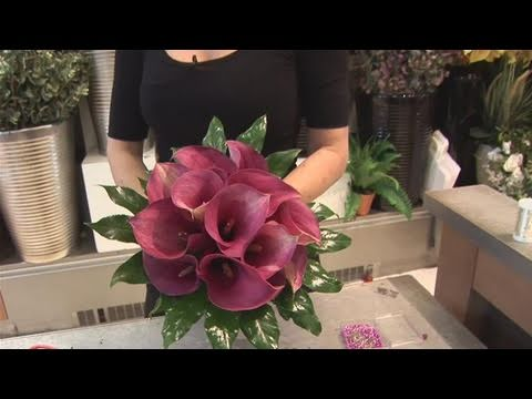 How To Do A Calla Lily Bouquet