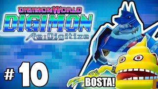 Esgoto cheio de bosta - Digimon World Re: Digitize parte 10 - Detonado em Portugues HD