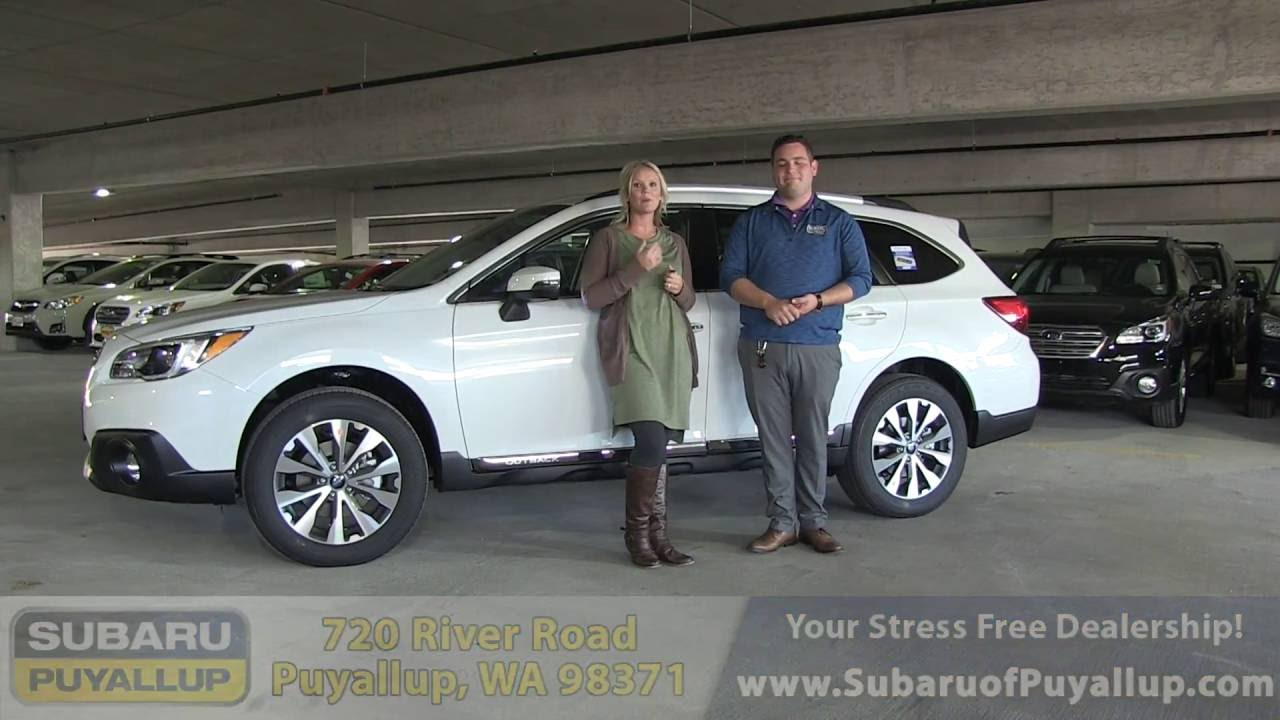 2017 Subaru Outback Touring Walk Around
