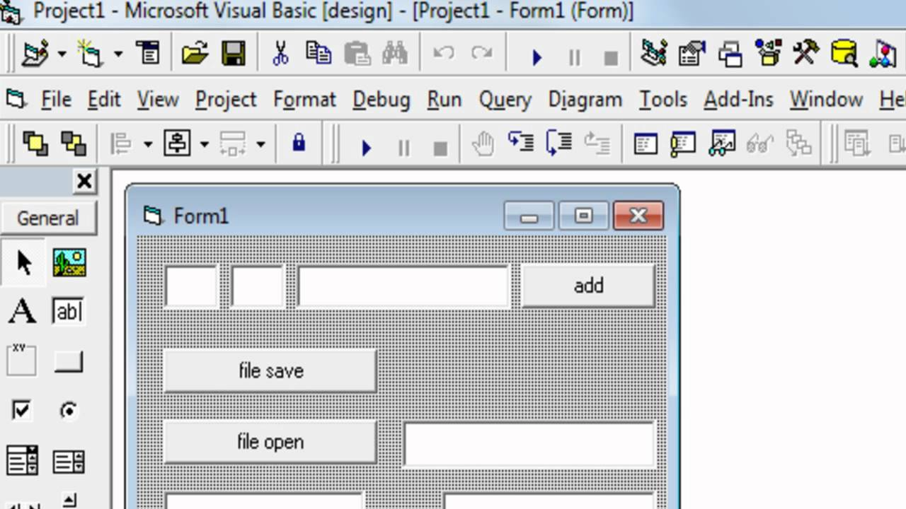 Working With Excel File In Visual Basic 6 0