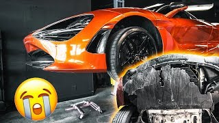 MY MCLAREN 720s FALLS OFF THE BACK OF A TOW TRUCK!