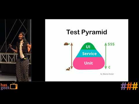 Increase test coverage with each code push - Pooja Shah
