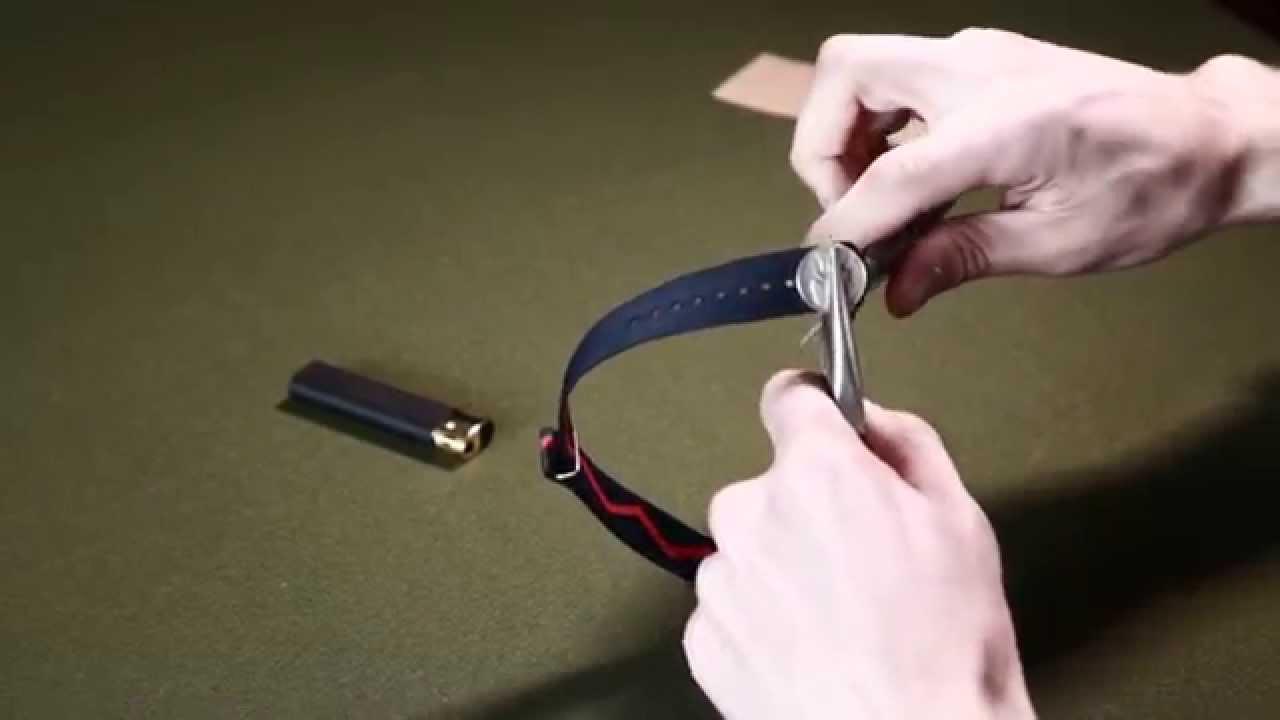 How to shorten watch band