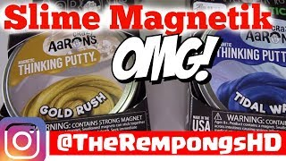 SLIME MAGNETIK THINKING PUTTY #2 | TheRempongsHD