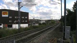 trains and tones at doncaster station and line side part 3 25/7/09