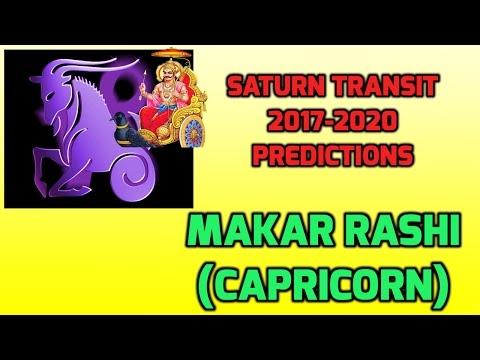 Makara Rashi Shani Transit Predictions 2017-2020 | Capricorn