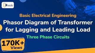 Phasor Diagram of Transformer for Lagging and Loading Load