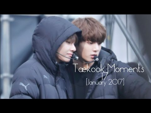Taekook Moments - 17 [JANUARY 2017]