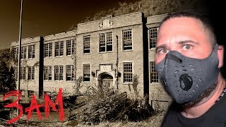 Abandoned school at 3am **H@untedAF**