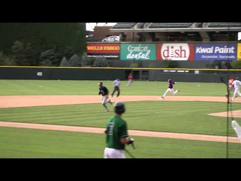 2012 June - High School Futures Game Triple at Colorado Rockies Coors Field