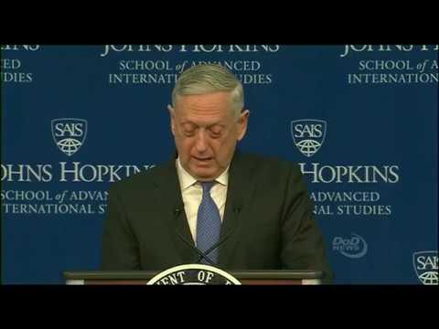 Secretary MATTIS announces NATIONAL DEFENSE STRATEGY 1/19/2018
