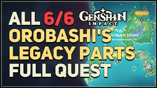 All Orobashi's Legacy Parts I-V Genshin Impact (Full Quest Line)