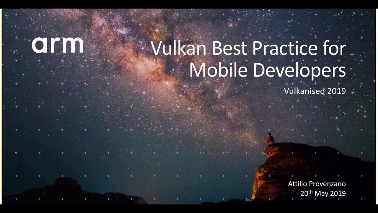 Vulkan – Arm Developer