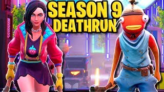 Can YOU beat this Season 9 Deathrun!? (Fortnite Creative Mode)