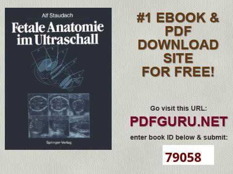 Fetale Anatomie im Ultraschall German Edition - YouTube