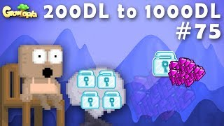 BUYING 9 MILLION GEMS!! 💎   200DL to 1000DL #75   Growtopia