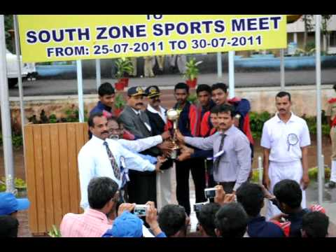 Sainik School, Bijapur-South Zone July 2011- Championship Trophy-Amaravathinagar.avi