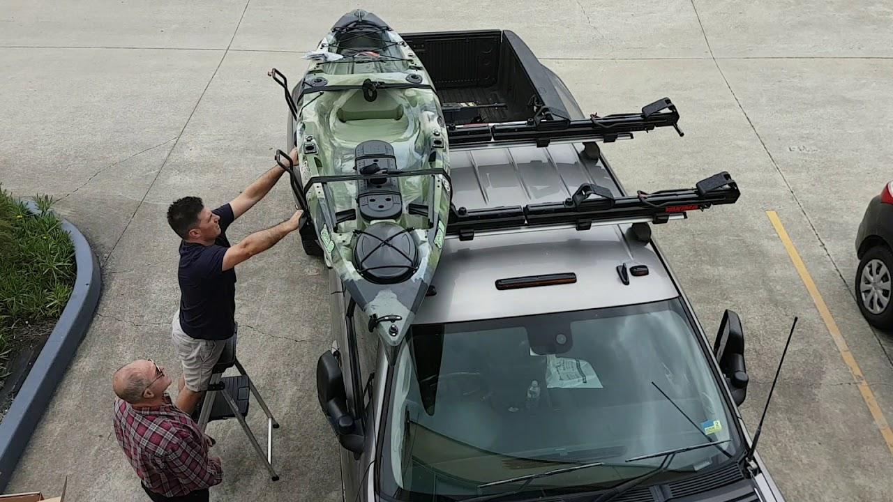 Yakima Showdown Kayak Loader roof rack Installation