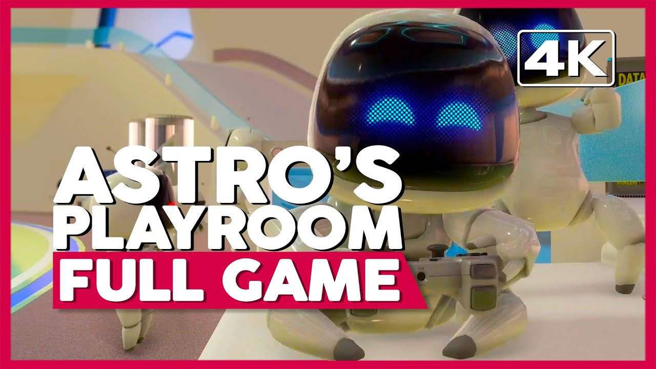 Astro's Playroom | Full Gameplay/Playthrough | No Commentary [PS5 4K 60FPS]