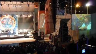 Kalamarka en concert à La Paz
