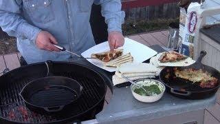 Стейк кейсадиас (Steak Quesadillas)