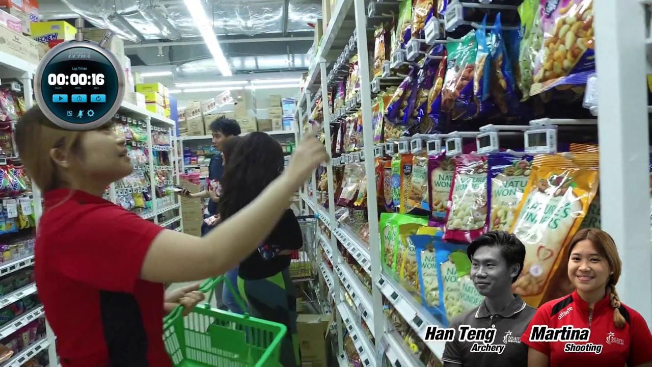 Supermarket Sweep [Sports Edition 1] feat  Sidney Kumar, Martina Veloso,  Ang Han Teng, Laura Tan