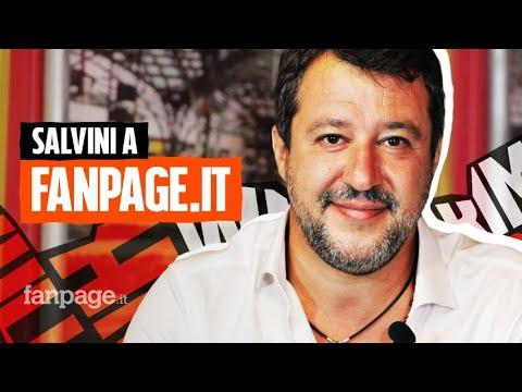 """Salvini a Fanpage.it: """"Gli assassini di Willy? Sono peggio delle bestie, ignoranti senza cultura"""""""
